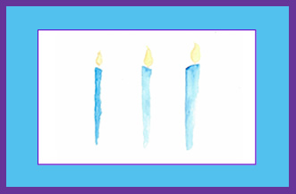 Three-Candles-light-up-life-greeting-card-by-artist-pattie-welek-hall