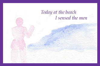 Beach-greeting-card-by-artist-pattie-welek-hall