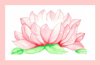 Lotus-beauty-love-greeting-card-by-artist-pattie-welek-hall