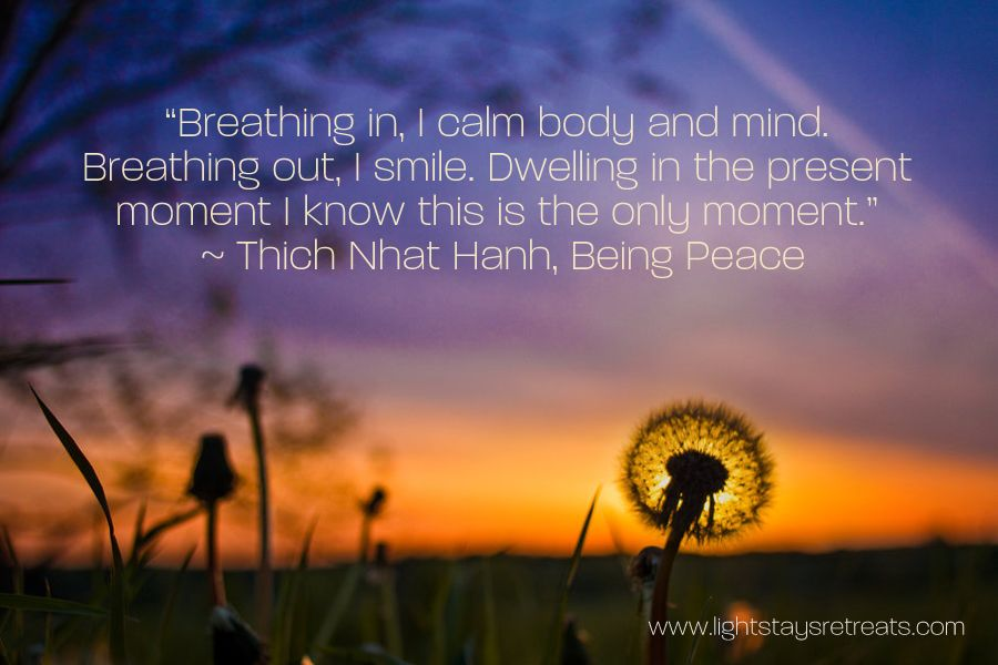 Image result for thich nhat hanh quotes being calm